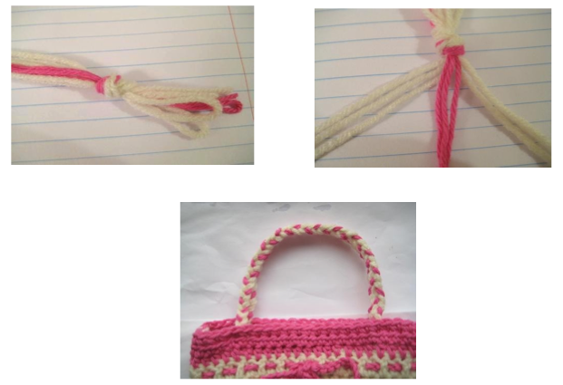 Braided Crochet Handle